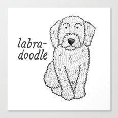 Dog Breeds: Labradoodle Canvas Print