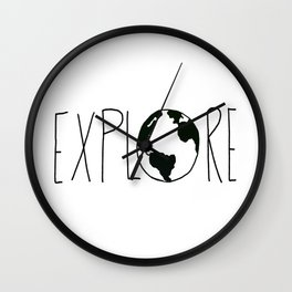 Explore the Globe x BW Wall Clock