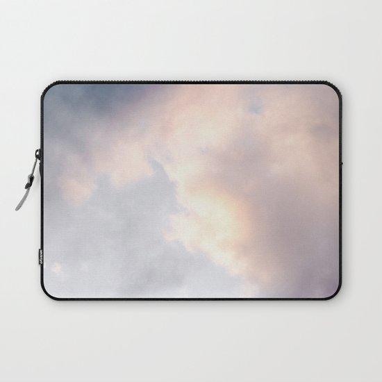Creamy Clouds Laptop Sleeve