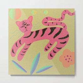 Tiger Queen Metal Print