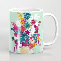 blush Mugs featuring Blush by Picomodi