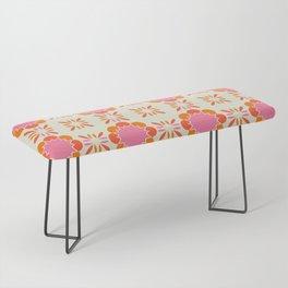 Sixties Tile Bench