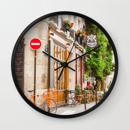 On Ile Saint-Louis Wall Clock