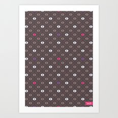 Arabian Nights Geometric Art Print