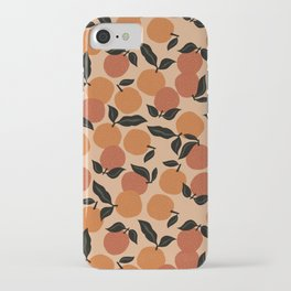 Seamless Citrus Pattern / Oranges iPhone Case