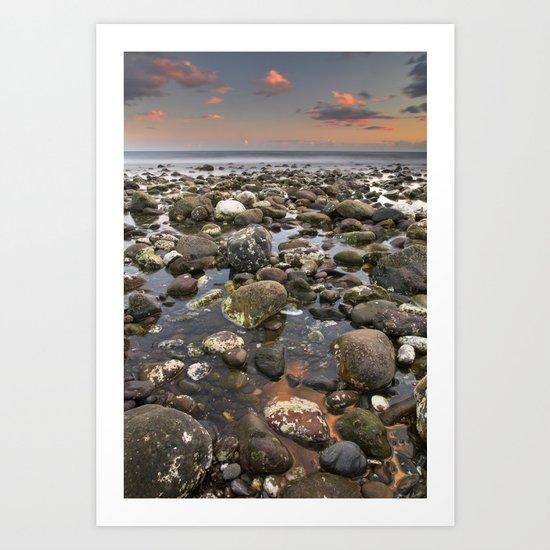 Big rocks Art Print