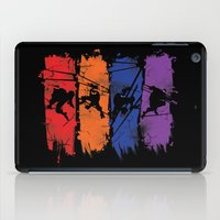 teenage mutant ninja turtles iPad Cases featuring TEENAGE MUTANT NINJA TURTLES by Beka