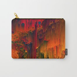 Toxic Rain - Pixel Art Carry-All Pouch