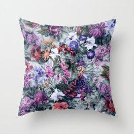 Botanical Dreams Throw Pillow