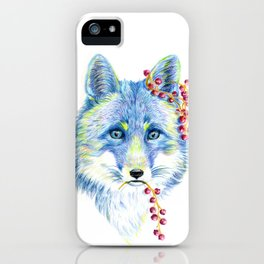Forest Animals series - Fox iPhone Case