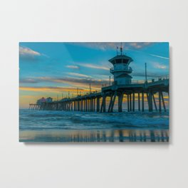 Natural Sunset Metal Print