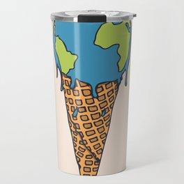 Earth Cream Cone Travel Mug