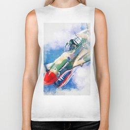 Curtis P-40 Biker Tank