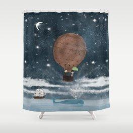 the big splash Shower Curtain