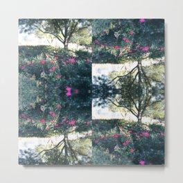 Rose Garden Oversize Metal Print