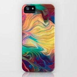 Crepe Paper Dance iPhone Case