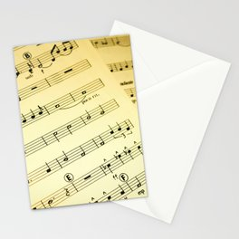 Orchestral Stationery Cards