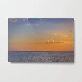 Florida sunset Metal Print