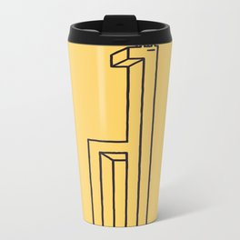 Impossibly tall Metal Travel Mug