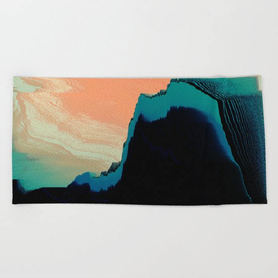 CliffHanger Beach Towel