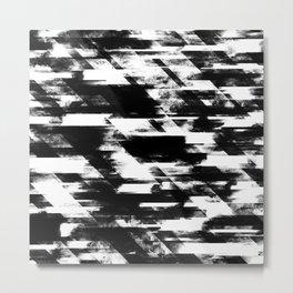 Glitch Panda 2 Metal Print