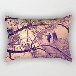 Over the city Rectangular Pillow