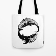 Having Fun (Whales) Tote Bag