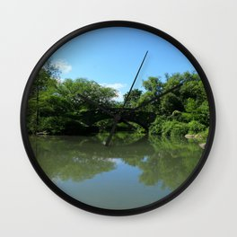 Gapstow Bridge - Central Park Wall Clock
