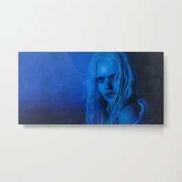 The Blue Angel Woman Metal Print