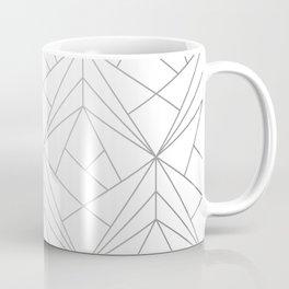 Geometric Silver Pattern Coffee Mug