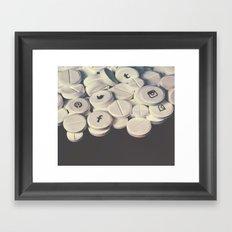 Addiction Framed Art Print