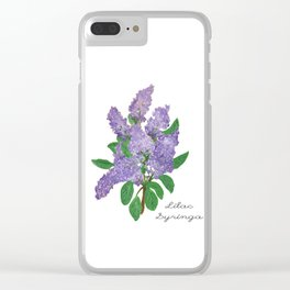 Lilacs: Syringa Clear iPhone Case