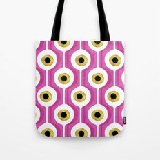 Eye Pod Pink Tote Bag