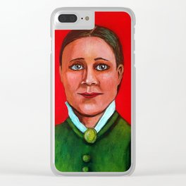 Edith Pechy Clear iPhone Case