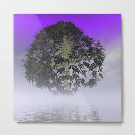 the black tree -1- Metal Print