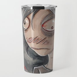 Hangman flinches Travel Mug