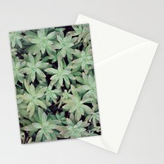 Succulent Abstract Stationery Cards