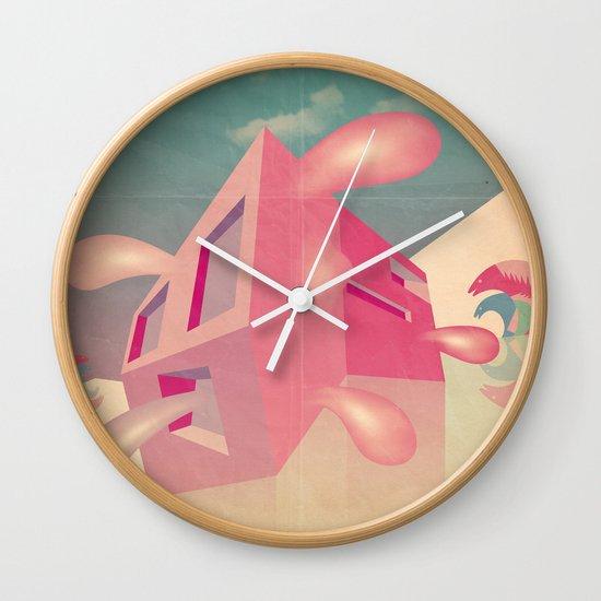 a r c h i t e t t u r a i m p a z z i t a Wall Clock