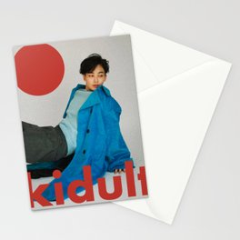 Artwork Aesthetic Korean Style SEVENTEEN Jeonghan Stationery Cards