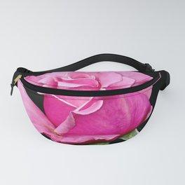 Romantic Pink Rosebud Fanny Pack