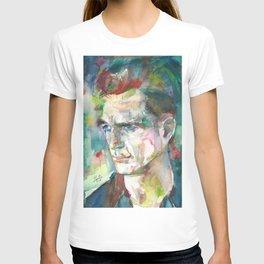 JACK KEROUAC - watercolor portrait.5 T-shirt