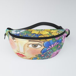 Eighties Side Ponytail Fanny Pack