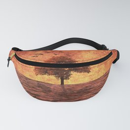 The sea of fire Fanny Pack