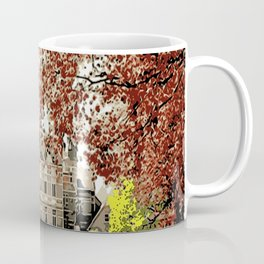Building in autumn Coffee Mug