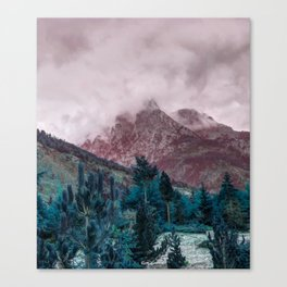 Unsolved Mystery Canvas Print