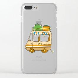 campervan vanlife vintage camping Clear iPhone Case