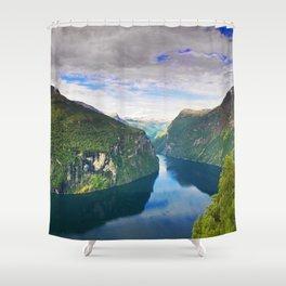 Ornevegen View Shower Curtain