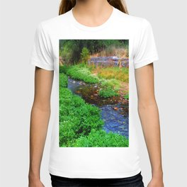 Gentle Stream at the Botanical Gardens T-shirt