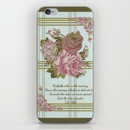 Roses for Charlotte iPhone Skin