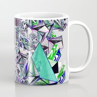 cityscape Mugs featuring Cityscape by infloence